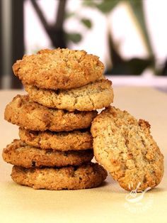 Buckwheat biscuits without butter without eggs (Vegan) Easy Cookie Recipes, Sweets Recipes, Raw Food Recipes, Healthy Peanut Butter, Healthy Cake, Tortillas Veganas, Biscotti Cookies, Vegan Dishes, Love Food