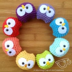 These cute little Crochet Owls would make an adorable gift for a little person and could make a great mobile for a nursery. Read the full post here...