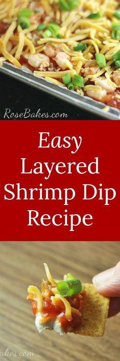 Easy Layered Shrimp