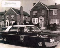 1962 Baltimore City Police Car