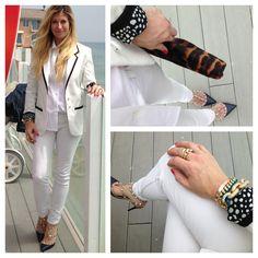 Navy, white and gold... MurphyDeesign Instagram