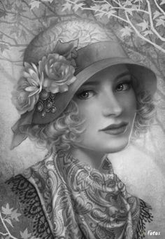 This pencil drawing is amazing! I would love to draw like this.