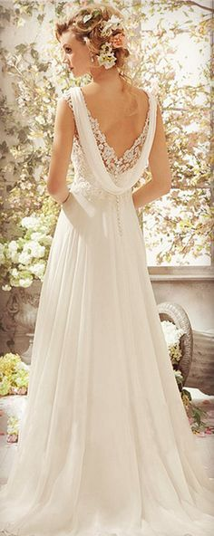 Elegant V-Neck Sleeveless Solid Color Backless Lace Spliced Evening Dress For…