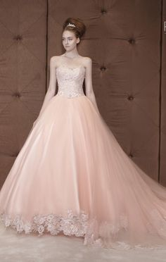 Pink Wedding Dress From Rico A Mona