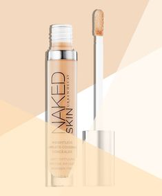 The Your-Skin-But-Better Effect The Product: Urban Decay Naked Skin Weightless Complete Coverage Concealer, $28   Urban Decay expanded their best-selling Naked line to include this lightweight concealer. The high-tech formula contains peptides and green tea that help improve the appearance of skin while covering it up.
