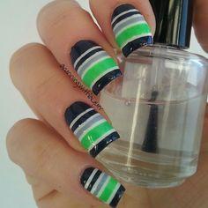 Instagram photo by runningwithlacquer  #nail #nails #nailart