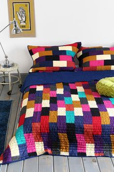 Magical Thinking Leela Block Quilt from Urban Outfitters