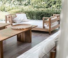 Outdoor Furniture Sets, Outdoor Decor, Wood Design, Bed, Home Decor, Decoration Home, Stream Bed, Room Decor, Beds