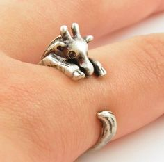 Adorable rings and they give 10% back to the animals. :) u have a friend who needs this.