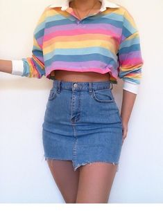 Likes, 39 Comments - Daily Outfits Teenage Outfits, Retro Outfits, Stylish Outfits, Vintage Outfits, Cool Outfits, Cute Fashion, Teen Fashion, Fashion Outfits, Winter Fashion