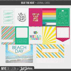 Beat the heat with a kit that showcases the best parts of summer, when the days are long and the memories last a lifetime. This charming collaboration has it all for endless variety: play with funky, bold patterned and classy neutral papers, or add smooth epoxy flairs beside coarse textured sand. Use the journal cards to document your memories or let the included wordart say it all. Grab this collab and you have the perfect excuse to stay inside and enjoy the air-conditioning!