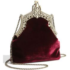House of Harlow 1960 'Rey' Velvet Pouch Burgundy Suede (€66) ❤ liked on Polyvore featuring bags, handbags, clutches, purses, accessories, velvet pouch, purse clutches, suede pouch, burgundy suede handbag and hand bags