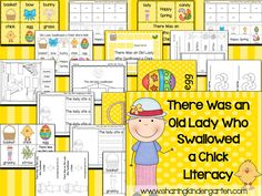 That Old Lady Swallowed a Chick... and Made Daily 5 SO Much Fun! - Sharing Kindergarten
