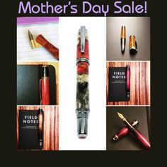 Celebrate the moms in your life with a beautiful handmade custom pen! Use the code MOM10 at checkout now through Sunday for 10% off! Custom orders are also available just shoot me a message to set something up!  patriawoodcraft.com