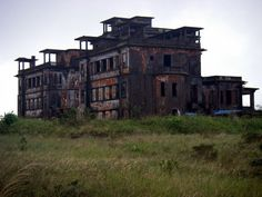 Bokor Hill Station is an abandoned French town built in 1922 on Bokor Mountain, just outside the town of Kampot, southern Cambodia. The buildings look absolutely eerie and beautiful.