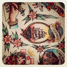 There's just something about traditional art/tattoos that i cant get enough of!