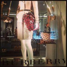 Leche vitrine: Montenapoleone 2013: Burberry