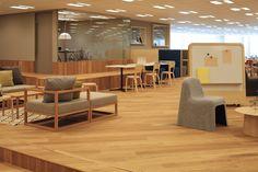 Gunosy  workspace / office : design by FLOOAT,Inc. / Photo by Kozo Takayama