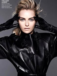 she-loves-fashion:  Valentina Zelyaeva Elle Germany August 2012