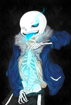 Collab, my lines with janis-roxas on the colors #undertale #sans