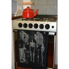 Pano de Prato Esqueleto