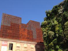 Madrid, Spain -- Green Wall & Rust