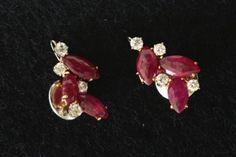 Dangerous red! #Oorbellen #Earrings #Juwelen #Jewelry #LillyZeligman www.lillyzeligman.com
