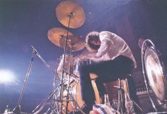 John Bonham of Led Zeppelin in Mothers, Birmingham, England,  – (1969-03-22).