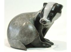 "Buy ""Persecuted"" Badger Maquette, Limited edition sculpture by Ama Menec on Artfinder. Discover thousands of other original paintings, prints, sculptures and photography from independent artists. Fish Sculpture, Bronze Sculpture, British Wildlife, Wildlife Art, Original Art, Original Paintings, Animal Sculptures, Badger, Figurative Art"