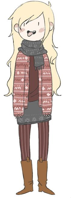 adventure time | winter style