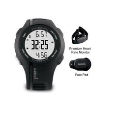 """(CLICK IMAGE TWICE FOR DETAILS AND PRICING) Garmin Forerunner 210 Watch with HRM and FP Garmin Forerunner 210 Premiu. """"Garmin Forerunner 210, Runners Pro Plus Brand New Includes One Year Warranty, The Garmin Forerunner210Bundle premium HRM foot pod club version is the easiest way to track your trainin.... See More Heart Rate Monitors at http://www.ourgreatshop.com/Heart-Rate-Monitors-C394.aspx"""