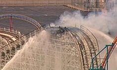 Incendio colapsa montaña rusa en Six Flags California Six Flags, Control, Niagara Falls, California, Nature, Travel, Roller Coasters, Fire Extinguisher, Naturaleza