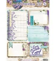 Studio Light Project Cards A4 La Provence nr 01 - Kimya verpakkingen