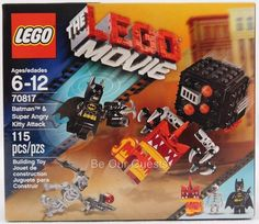 Lego The Lego Movie Batman Super Angry Kitty Attack 70817 New #Lego