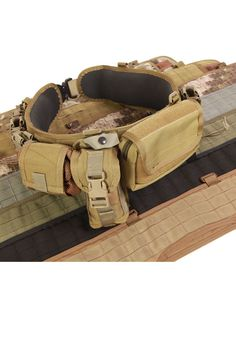 The modern follow on to the LCE - MOLLE load bearing belts - continue to gain popularity.  This option from HSGI is a solid choice for those that are going heavier and who do not need soft armor.