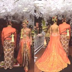 Indonesian by didit Indonesian Kebaya, Indonesian Women, Indonesian Wedding, Dream Wedding, Wedding Day, Traditional Wedding, Sari, Gowns, Formal Dresses