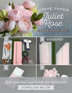 Latest Paper Flowers Rose If you are looking for Paper flowers rose you've come to the right place. We have collect images about Paper flowers rose including images, pictures, . Paper Flowers Roses, Crepe Paper Roses, Paper Peonies, Tissue Paper Flowers, Paper Flower Wall, Paper Flower Centerpieces, Paper Flower Arrangements, Crepe Paper Decorations, Juliet Roses