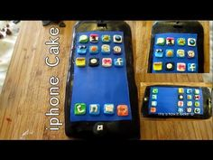 HOW TO MAKE AN IPHONE CAKE - YouTube