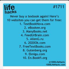 Text books for free