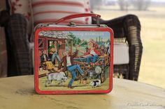 Vintage Lunch Box - actually had one of these