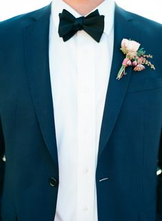 navy and black for the groom // photo by Taylor Lord