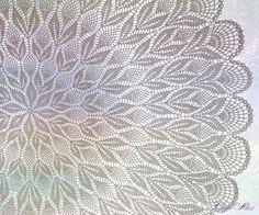 Diagram Crochet Doily Patterns With Crochet Table Topper, Crochet Tablecloth Pattern, Crochet Doily Rug, Free Crochet Doily Patterns, Crochet Doily Diagram, Crochet Round, Crochet Chart, Diy Crafts Crochet, Pineapple Crochet