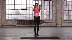 Train Like An Angel 2014: Alessandra Ambrosio Arm Workout