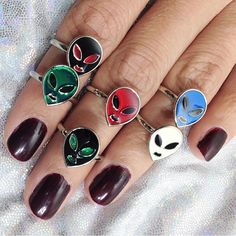 These alien rings: | 31 '90s Products You Can Still Find