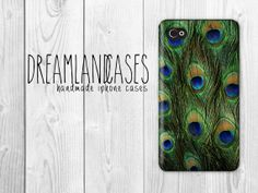 Peacock Feather Bird Feather iPhone Case iPhone by DreamlandCases, $13.00
