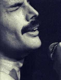 Freddie Mercury (born Farrokh Bulsara, 1946-1991) - British musician, singer, and songwriter, best known as the lead vocalist and lyricist of the rock band Queen.