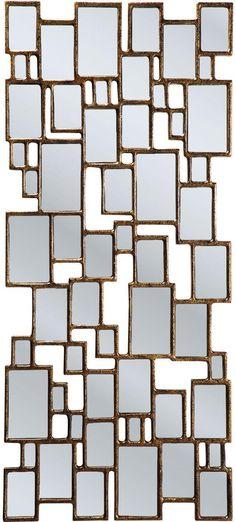 Spiegel Cubes - 132x54cm - koper - Kare Design