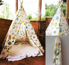 duży namiot wigwam w indiański wzór w kura d na DaWanda.com #niezchinzpasji#