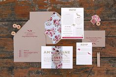 Ruby & Willow Custom Wedding Stationery Amy Shane
