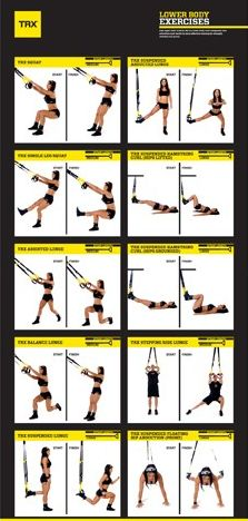 TRX workout - you'll feel it in the morning ;)